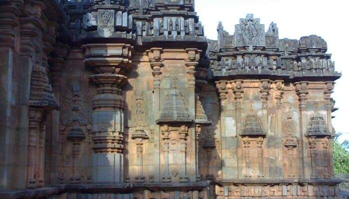 temple with intricate carvings