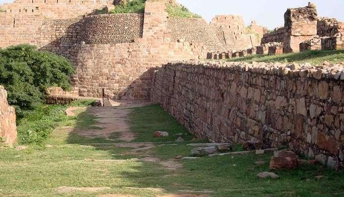 ancient Shergarh fort