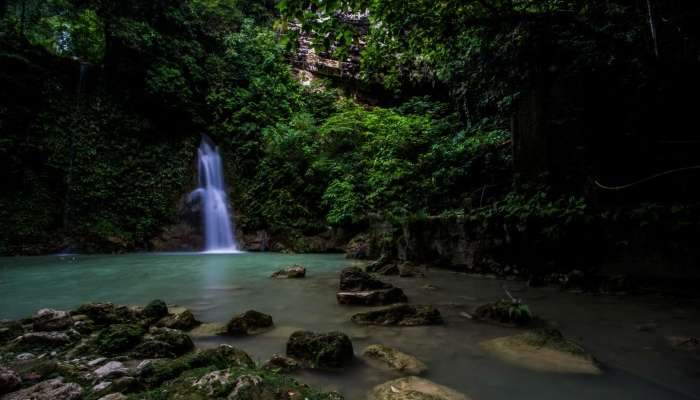 Mantayupan Falls View
