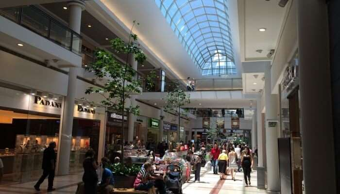 Ramat Aviv Mall In Tel Aviv
