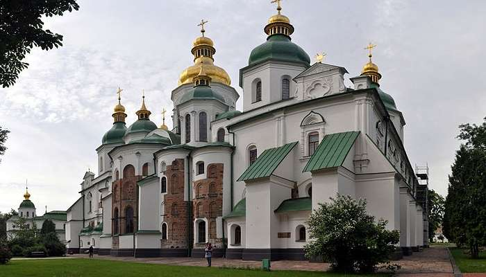 Saint Sophia Cathedral In Ukraine