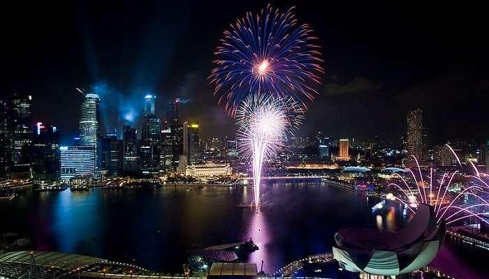 fireworks national day