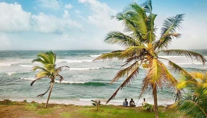 Sea Sri Lanka Travel Island Beach Ocean