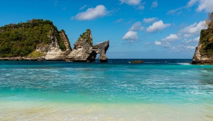 famous beach in bali
