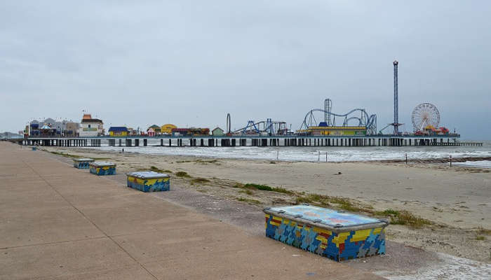 Galveston Island and the Pleasure Pier