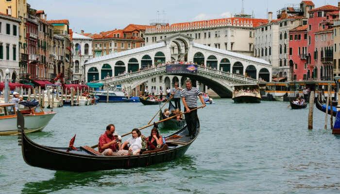 Crociera in gondola a Venezia