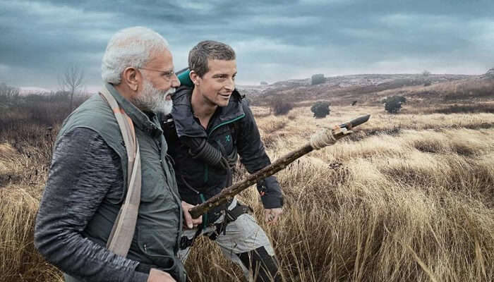 narendra modi and bear grylls
