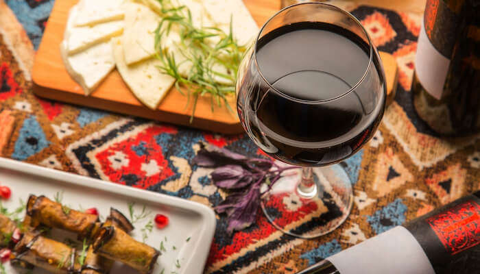 Tbilisi's wine and cheese
