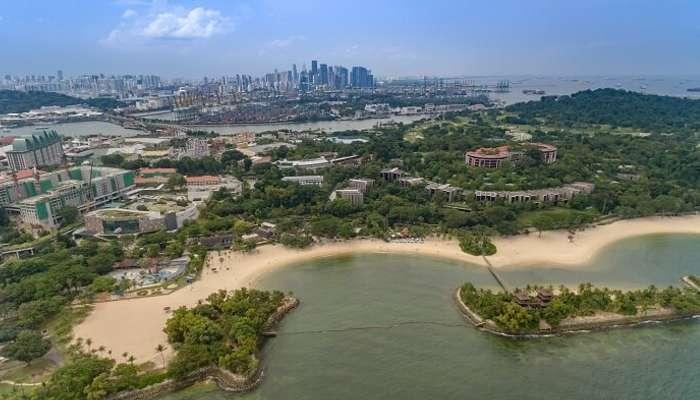 Palawan Beach Sentosa island Singapore