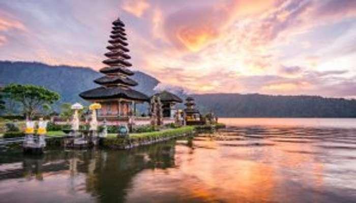 Bali temple view