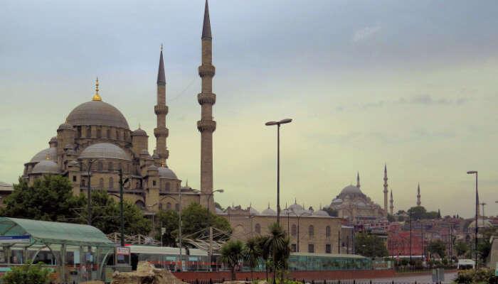 Rüstem Pasha Mosque, Turkey