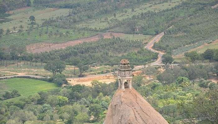 popular pea Among the Top Places To Visit In Karnataka.ks for trekking