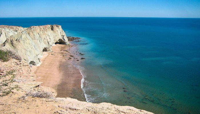 Île de la plage d'Ormuz