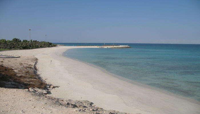 Île de la plage de Kish