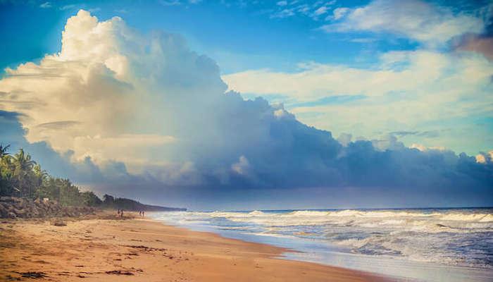 Sunrise at Cherai Beach