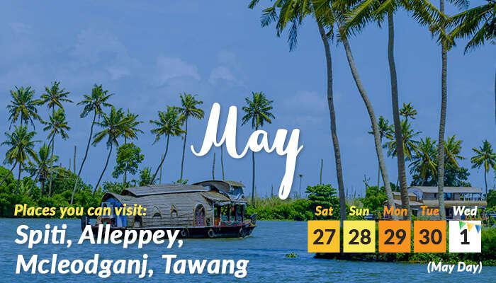 May- long weeknd