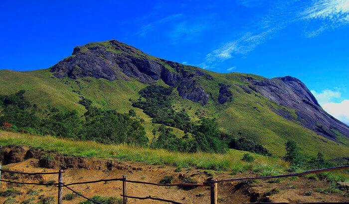A glorious view of the Anumadi Peak in Munnar