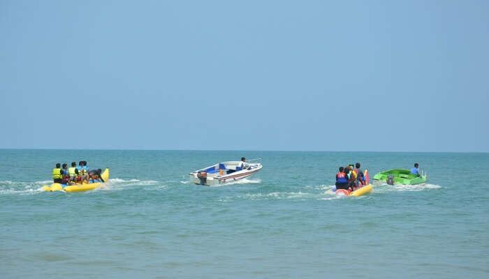 Banana Boat View