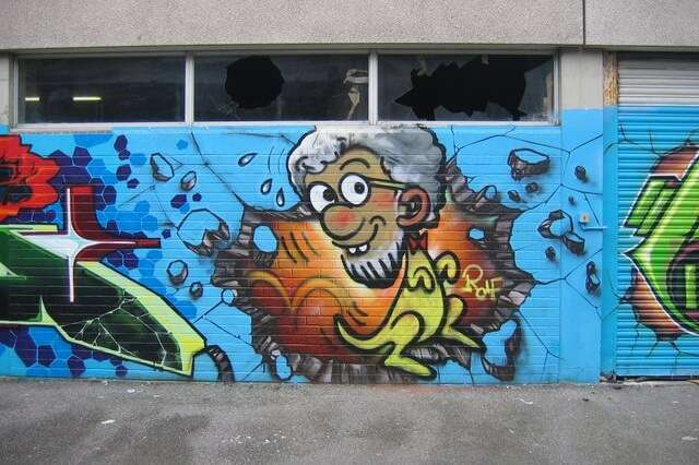 Get Graffiti hunting