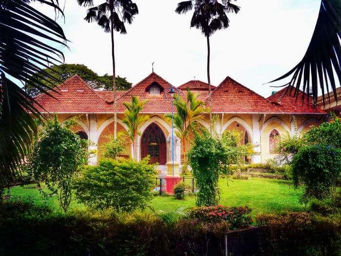 The heartbreakingly beautiful Indo-Portuguese Museum in Cochin