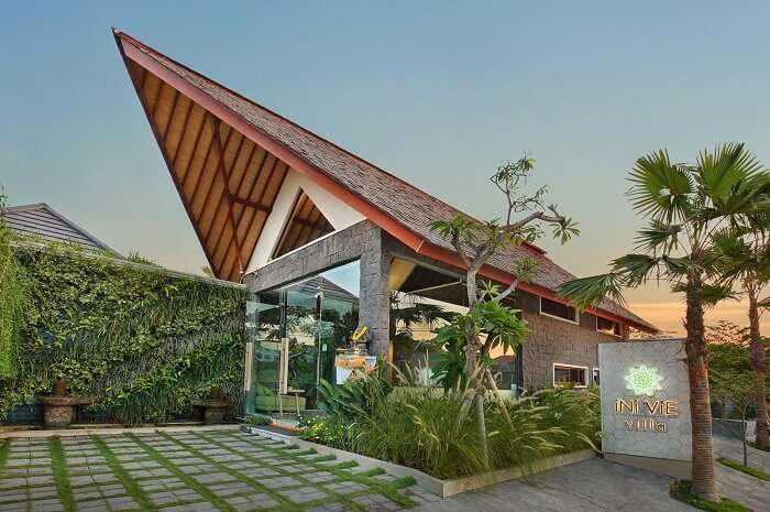 awesome architecture of ini vie villa