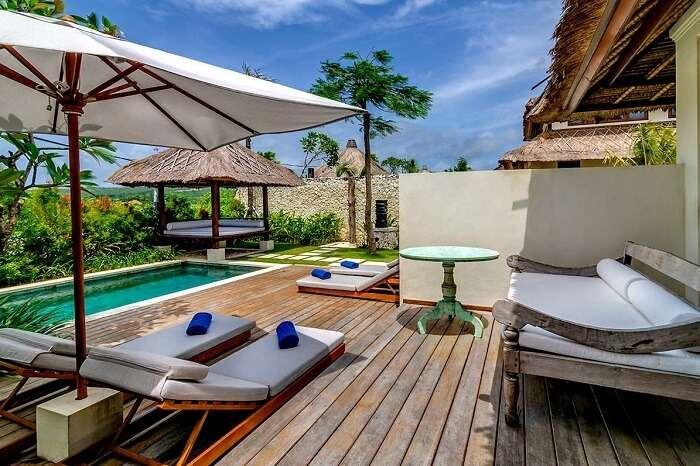 awesome private pool villas in Karma Kandara