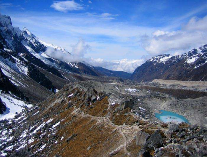 Khangchendzonga is the third highest peak in the world