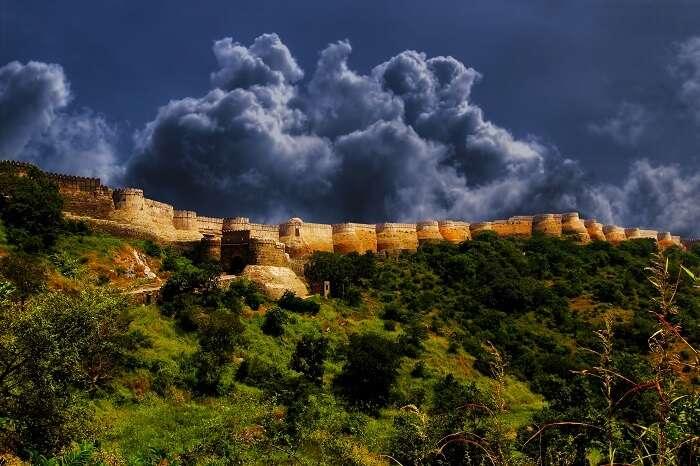 Kumbhalgarh fort encompasses ages of history within its boundaries