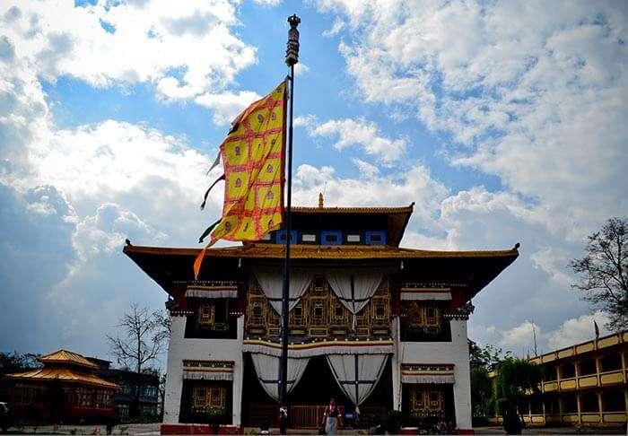 Pemayangtse Monastery is a popular tourist attraction in Gangtok