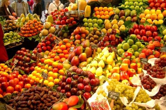 Vegetables Healthy Fruits Food Fruit Market