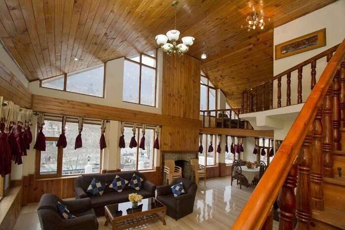 RiverSide Cottages Manali interiors