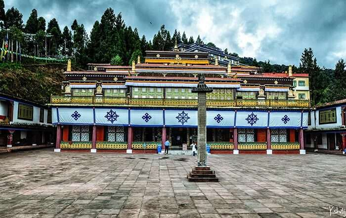 Rumtek Monastery - one of the most famous places to visit in Gangtok