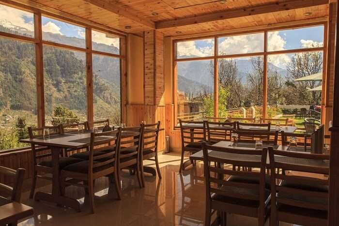 Snow Peak Retreat restaurant