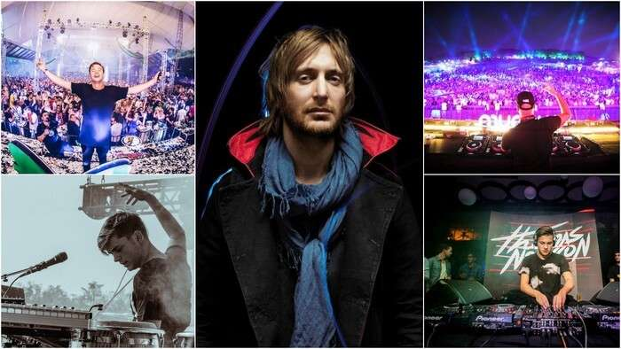 The artists performing at Goa Sunburn include David Guetta and Kygo