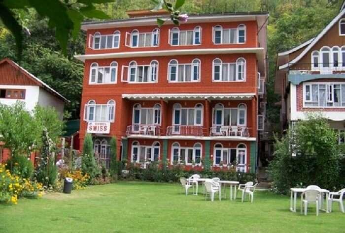 Swiss Hotel Kashmir is one of the best budget hotels in Srinagar near Dal Lake