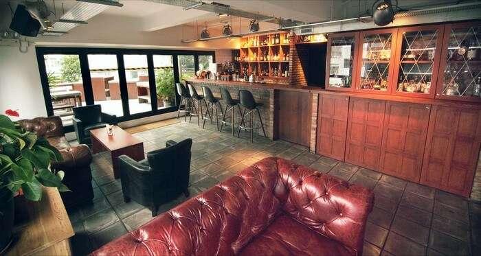 The Blk Brd bar stays open till late night in Hong Kong
