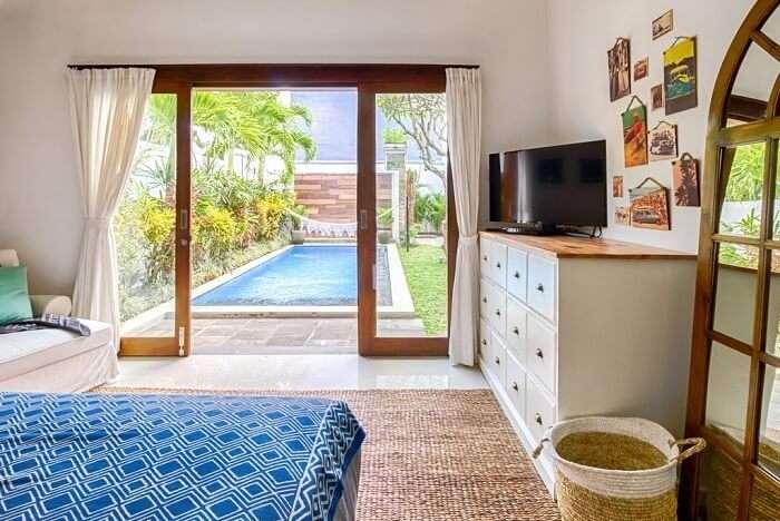 room with pool villa in umalas retreat 2