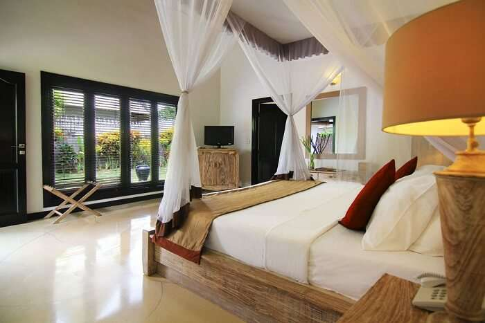 bedroom in villa seminyak