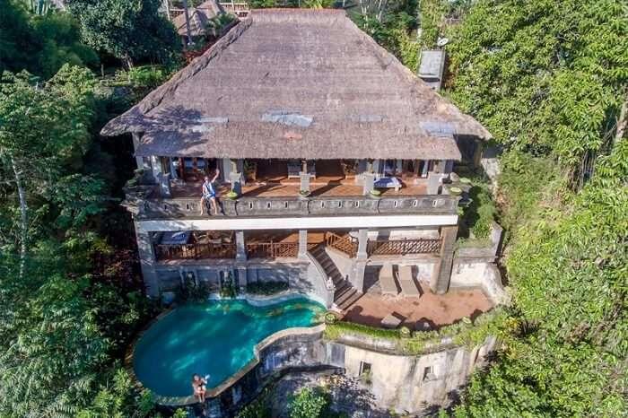 magnificent elevated location of villa awang awang
