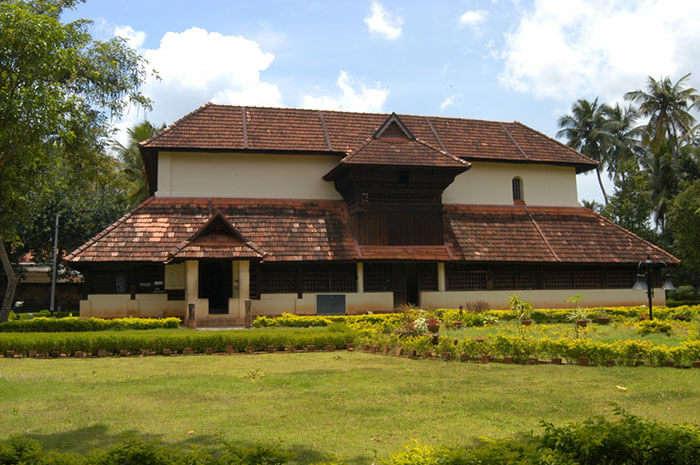 The Krishnapuram Palace cum museum in Alleppey