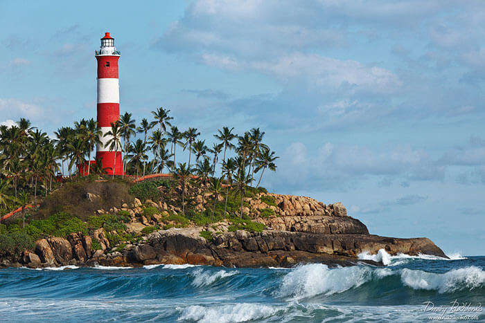 The Lighthouse on the shores of Alleppey