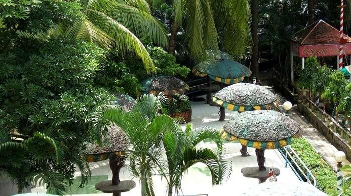 Palm village at Bhasa is one of the closest resorts near Kolkata