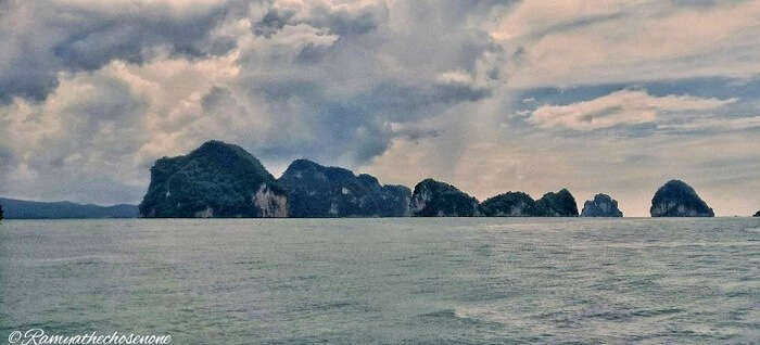 View from James Bond island