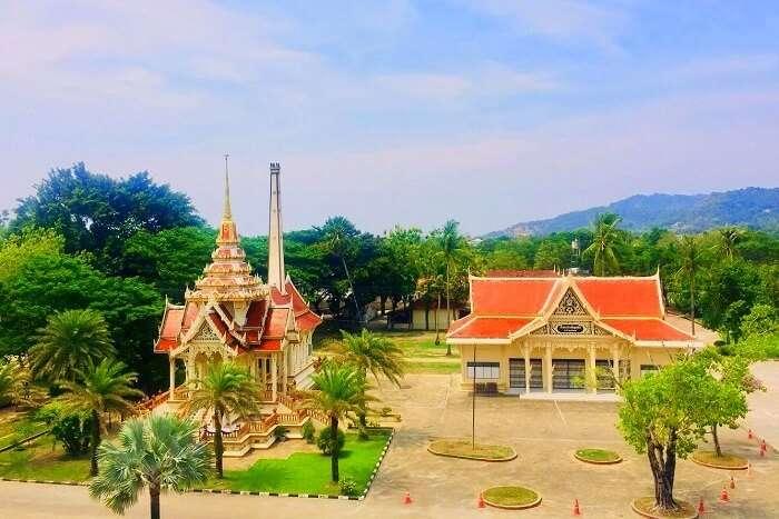 pooja thailand trip day 8 wat chalong buddha temple exterior