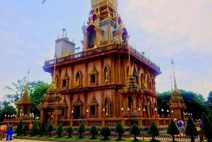 pooja thailand trip day 8 wat chalong buddha temple