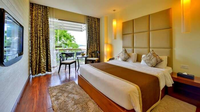 room in sea shell hotel andaman