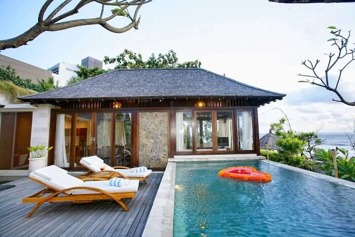 stay at one of the best private pool villas in bali - Taman Sari villa