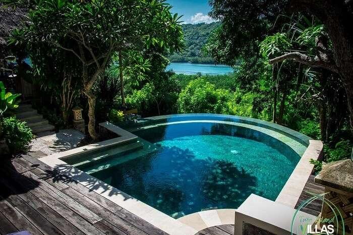 twin island villa