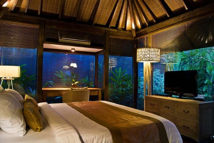 room with awesome nature views and luxe facilities in villa komea
