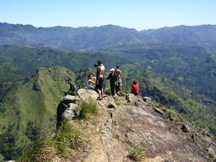 Ella rock and Adams peak- Central mountain range in Sri Lanka